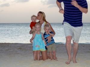 Timed family photo fail...